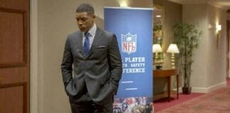 Concussion Filminden Fragman Geldi