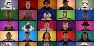 Jimmy Fallon The Roots ve Star Wars Ekibiyle A Capella Yaparsa