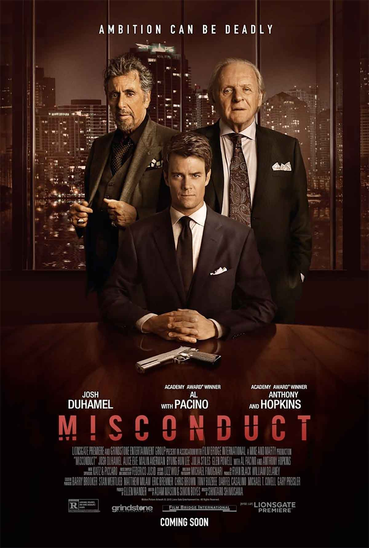 Misconduct Filminden Fragman ve Poster Geldi