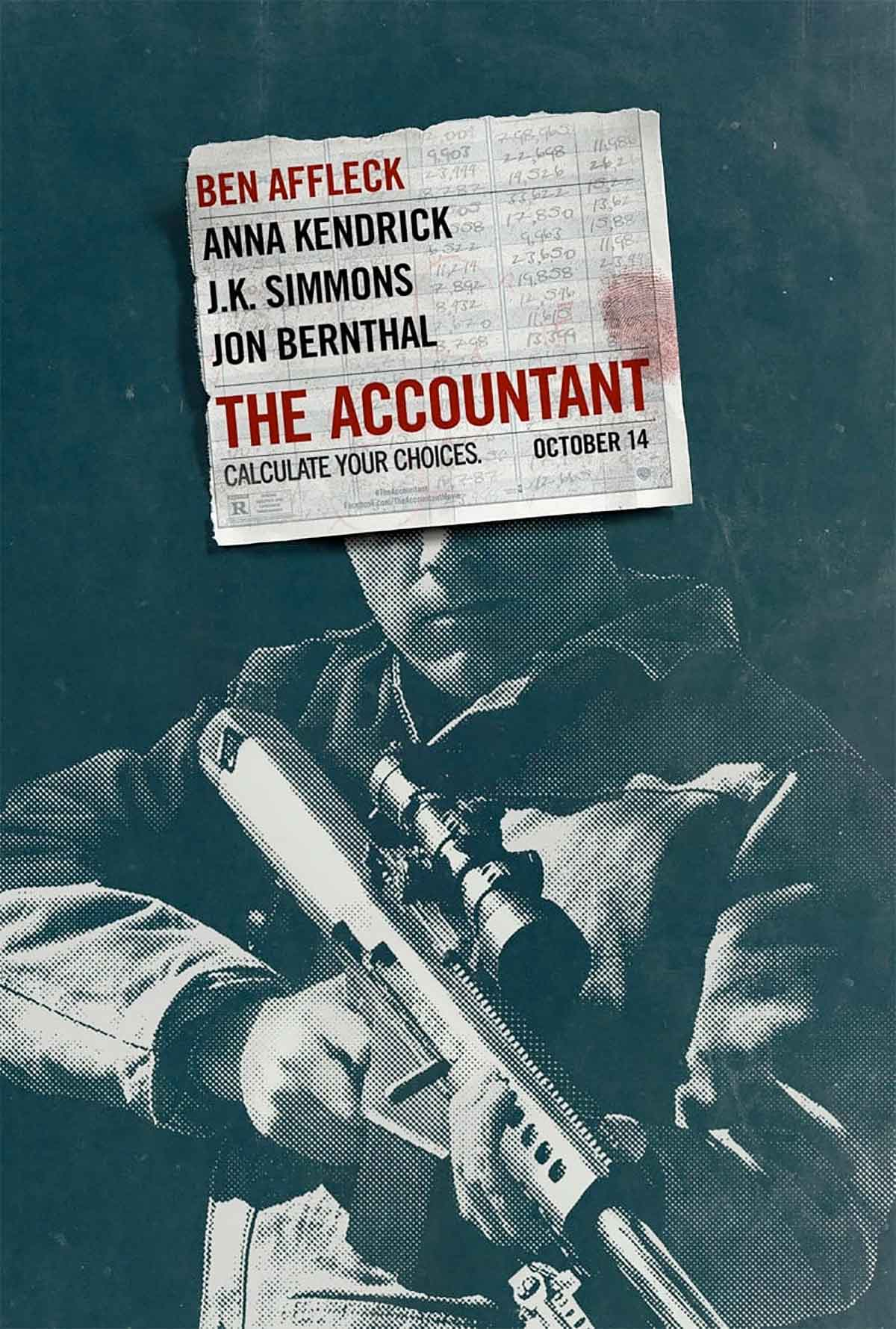 The Accountant Filminden Yeni Bir Afiş Geldi
