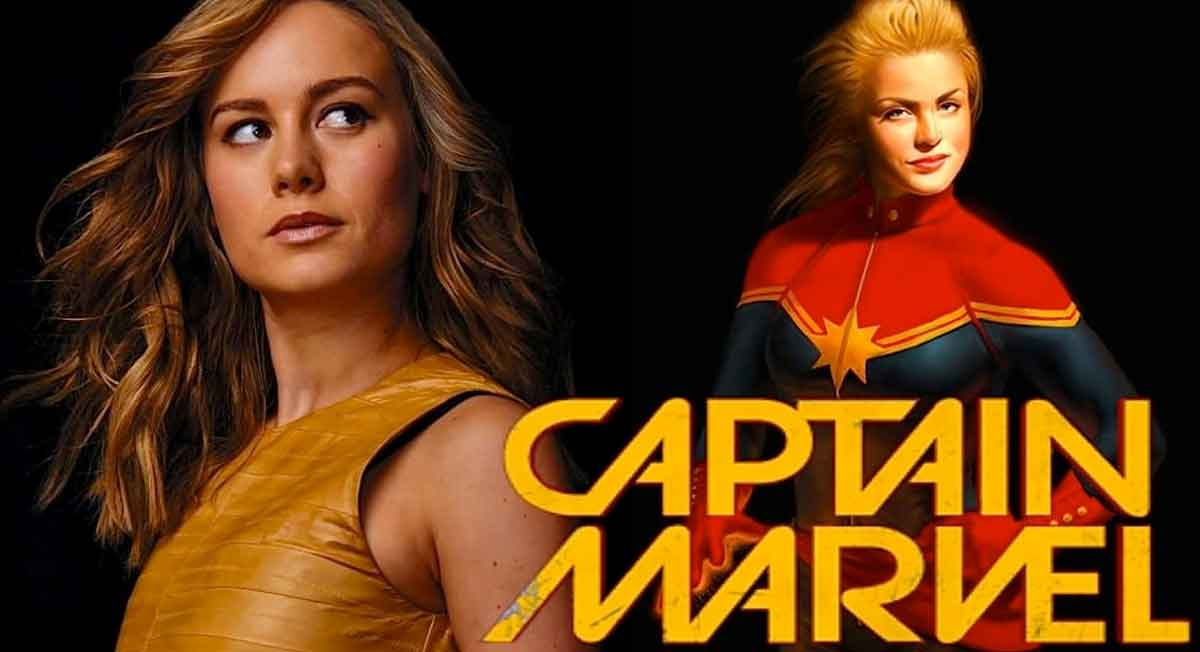 Brie Larson Captain Marvel Oldu