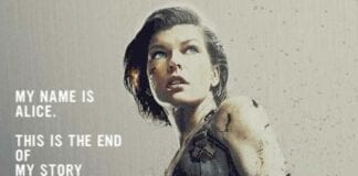 Resident Evil: The Final Chapter'dan Hareketli Bir Afiş Geldi