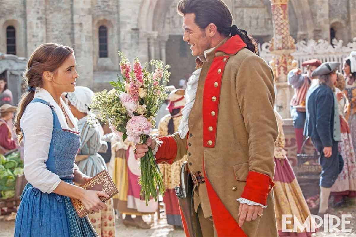 Beauty and the Beast'ten Emma Watson ve Luke Evans'lı Görsel